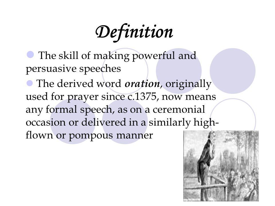 oratory speeches