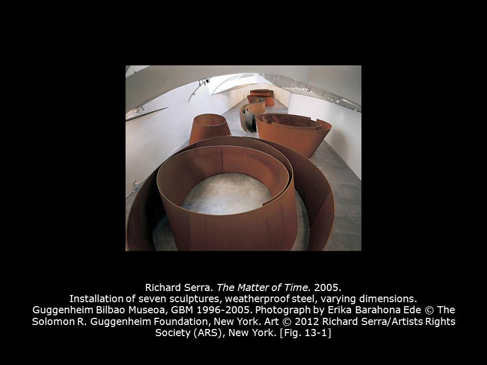 Richard Serra  The Matter of Time Installation of seven