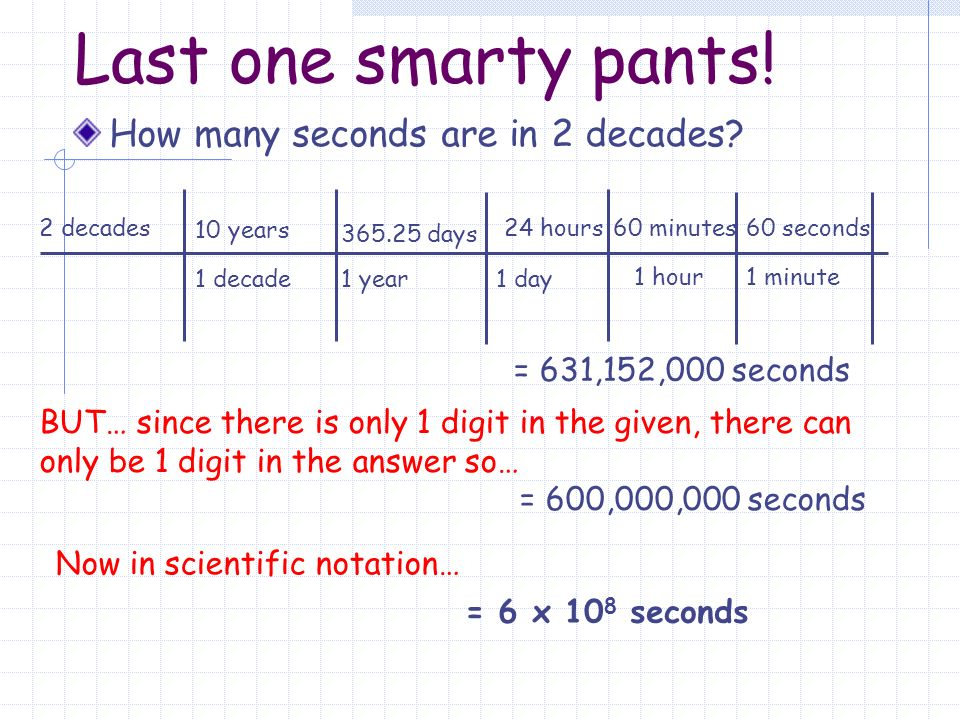 Scientific Notation Way To Simplify Big And Small Numbers Ppt Download