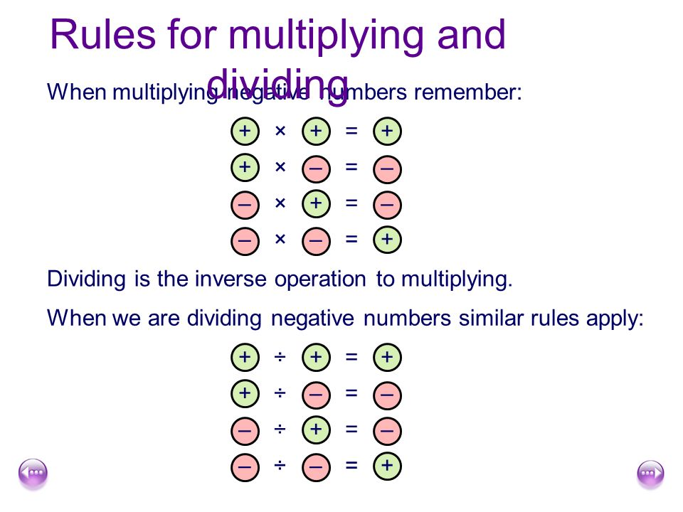 positive and negative numbers negative numbers a positive or
