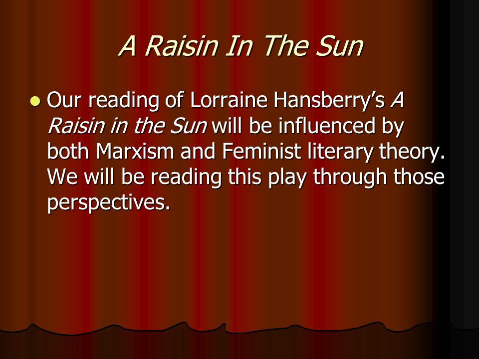 a raisin in the sun feminism