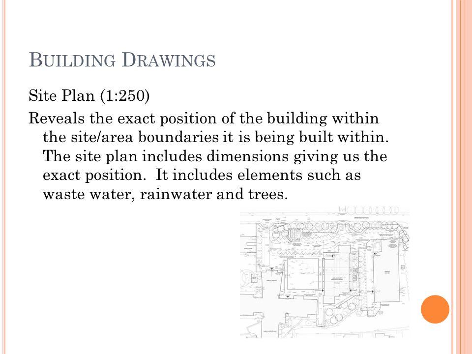 B Uilding D Rawings Location Plan Site Plan Floor Plan Symbols