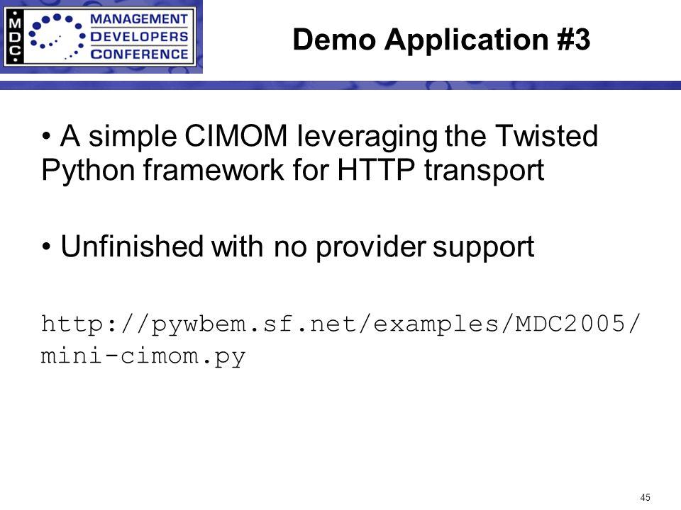 1 Developing WBEM Clients Using Python Tim Potter Hewlett