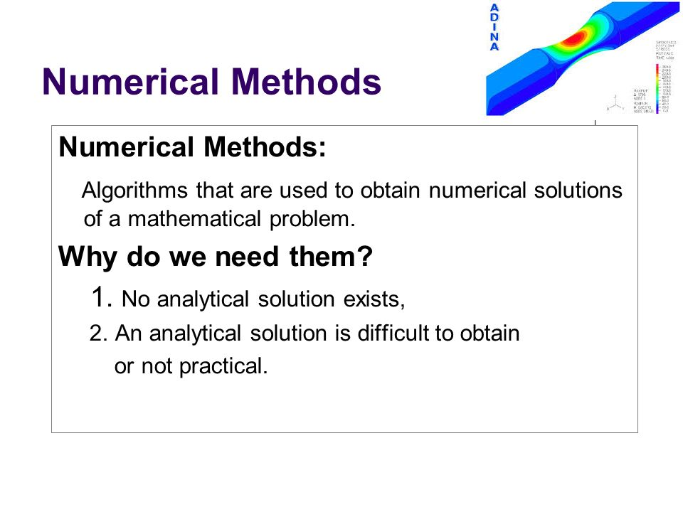 Numerical Analysis Intro to Scientific Computing  - ppt download