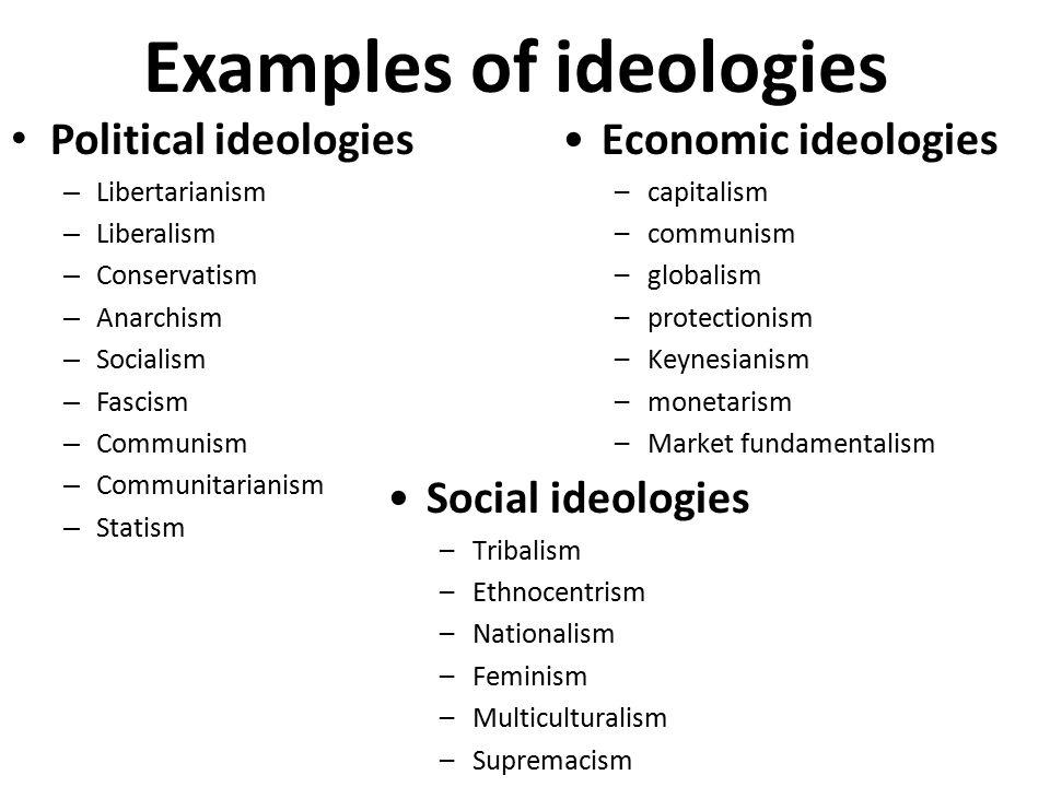 communitarianism examples