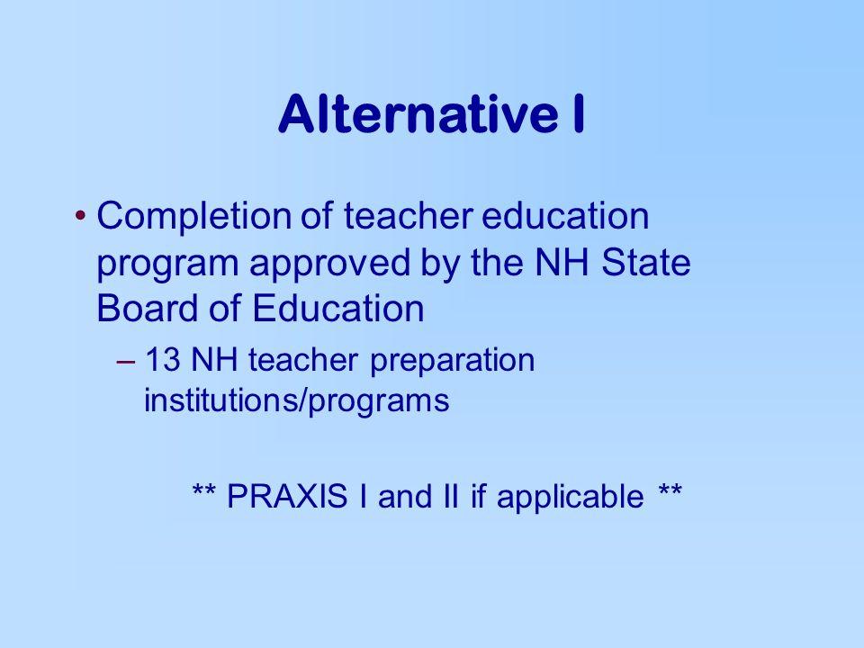 certification alternatives certification of educators certificates ...