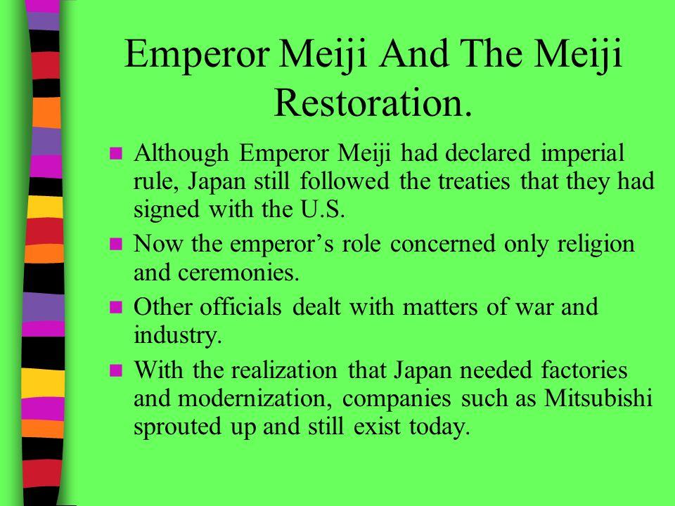 meiji rule