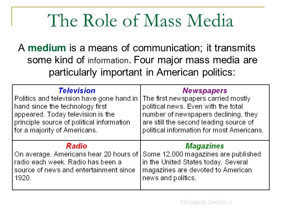 role of media in democracy pdf