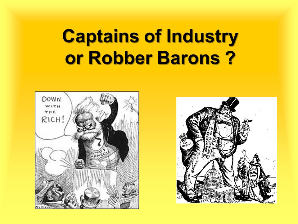examples of robber barons