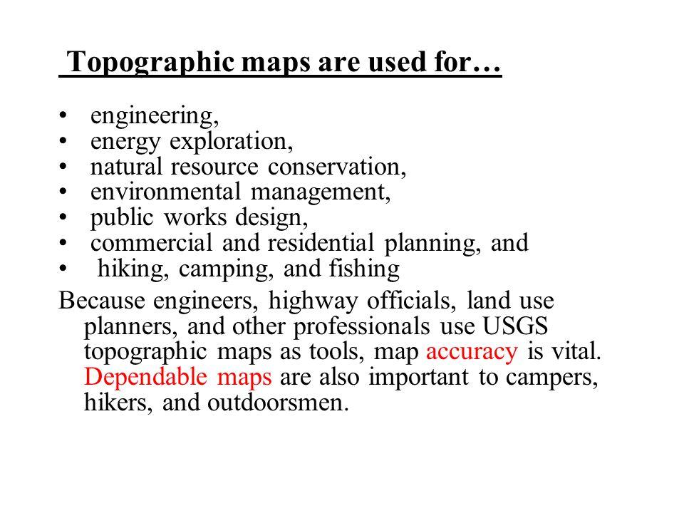Topographic Map Uses.Topographic Maps Topographic Maps Topographic Map Is A Model Which