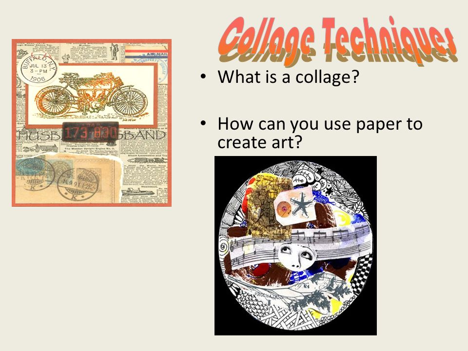 3 what is a collage
