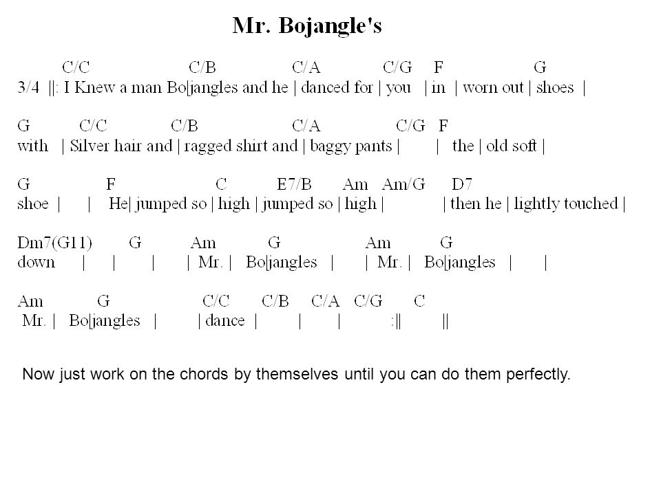 Guitar I and Guitar II Class 6 E major and Am chords. Review the A ...