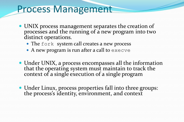 The Linux System Linux History Design Principles Kernel Modules