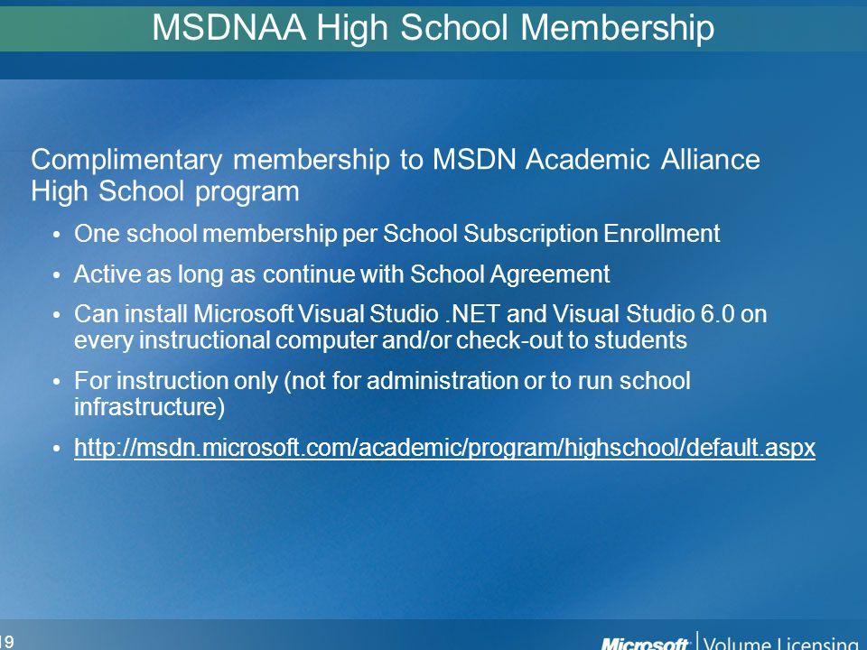 Microsoft School Agreement 2 Agenda What Is School Agreement Is