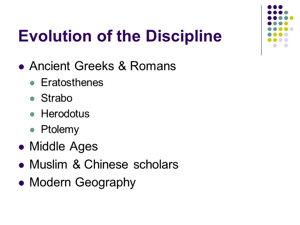 Introduction to geography arthur getis judith getis jerome d 5 evolution of the discipline ancient greeks romans eratosthenes strabo herodotus ptolemy middle ages muslim chinese scholars modern geography fandeluxe Images
