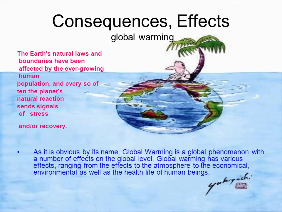harms of global warming