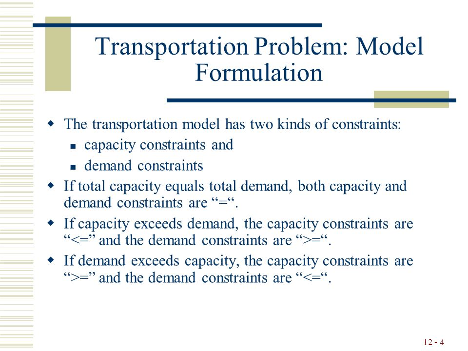 Chapter 12: Network models PowerPoint Slides Prepared By