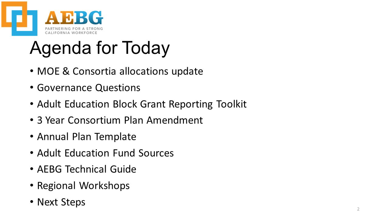aebg webinar september 25 agenda for today moe consortia