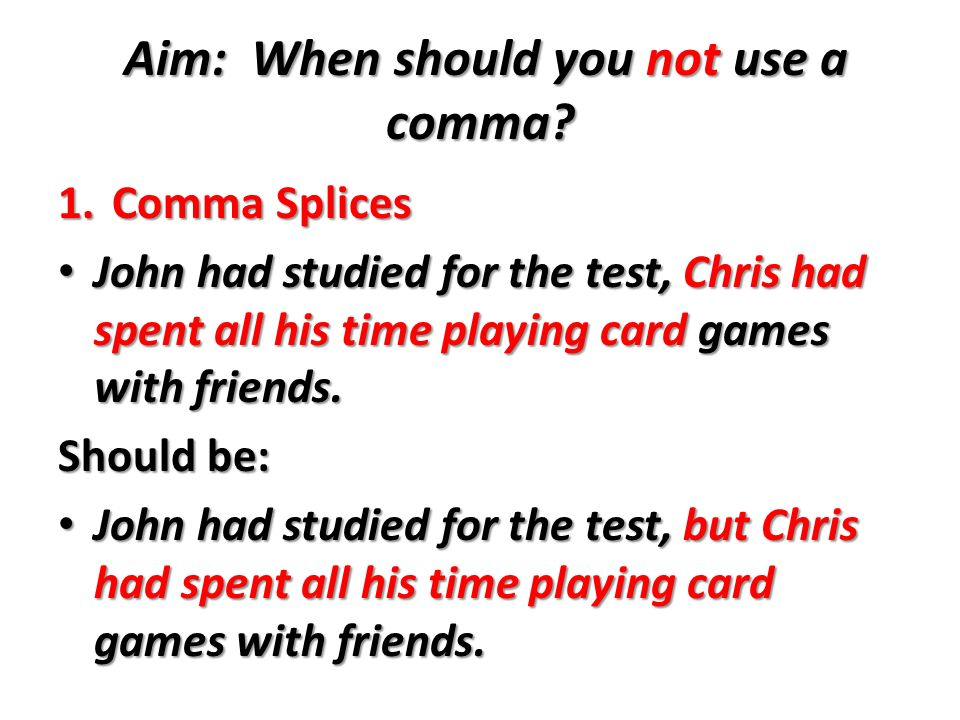where are the commas essay A comma signals a pause in a sentence, either to introduce or connect ideas, separate items in a series, or set off a quotation or interrupted thought you should use commas in five basic situations in a sentence.