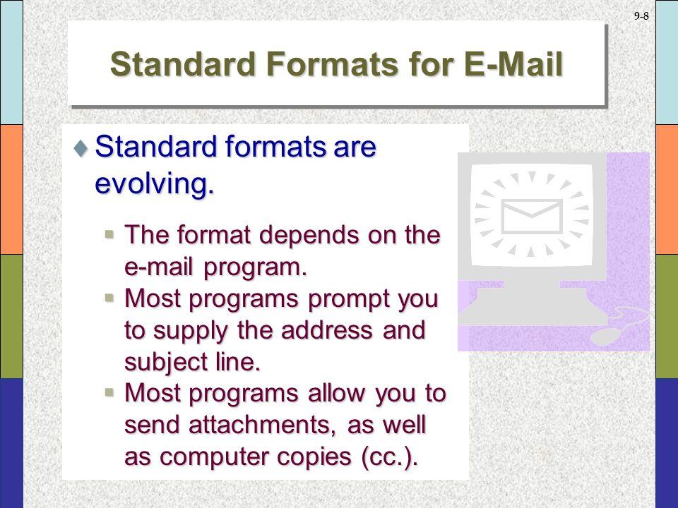 9 7 Standard Formats For Memos  Standard Memo Format Mimics Block Letter  Format,