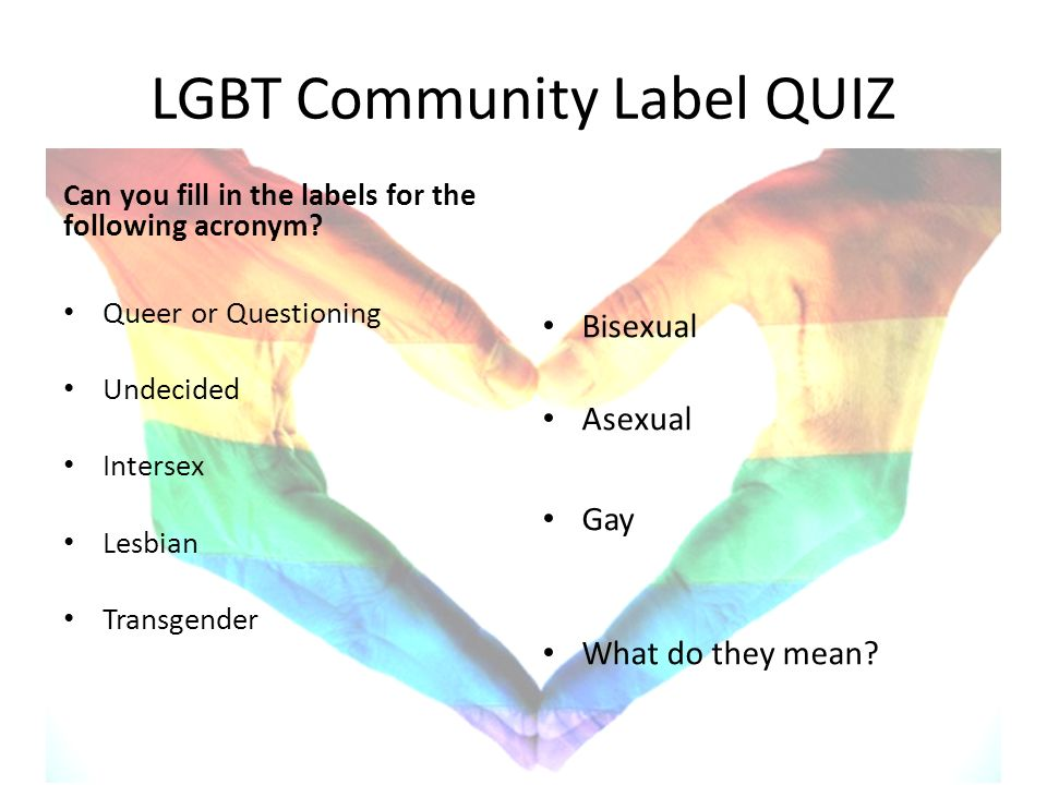 Quiz bisexual