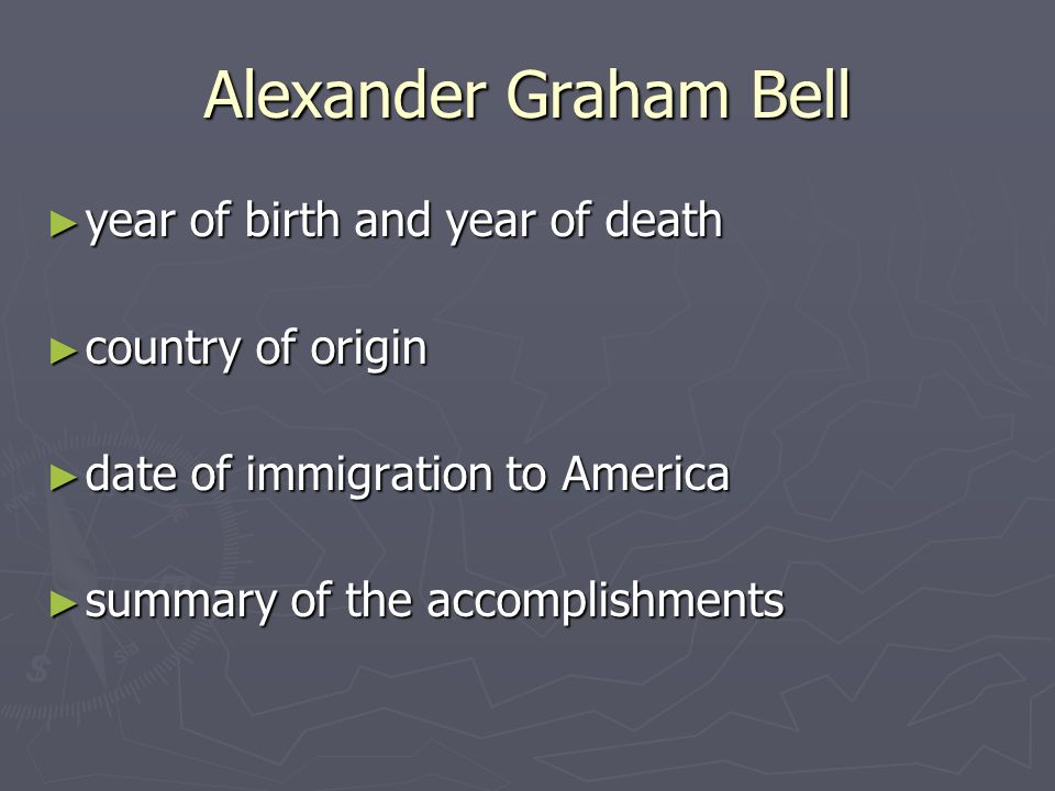 alexander graham bell accomplishments