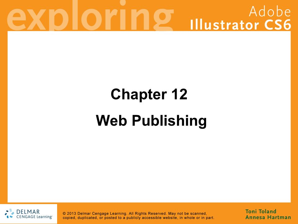 Chapter 12 Web Publishing  Goals Become an image