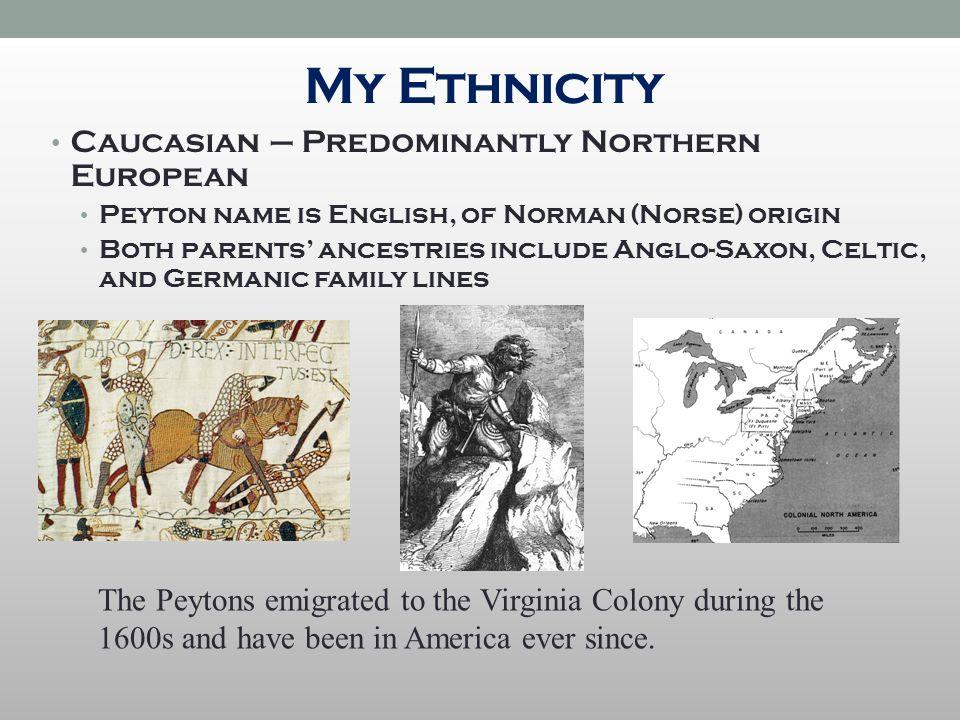 caucasian origin last name