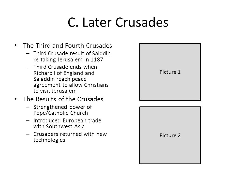 third crusade results