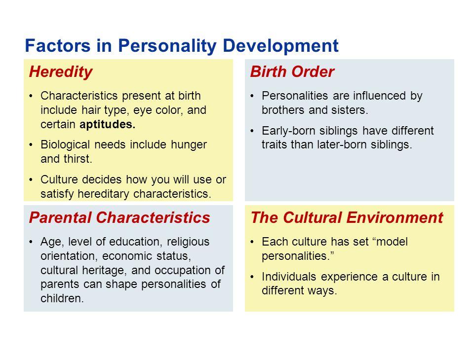 heredity and personality development