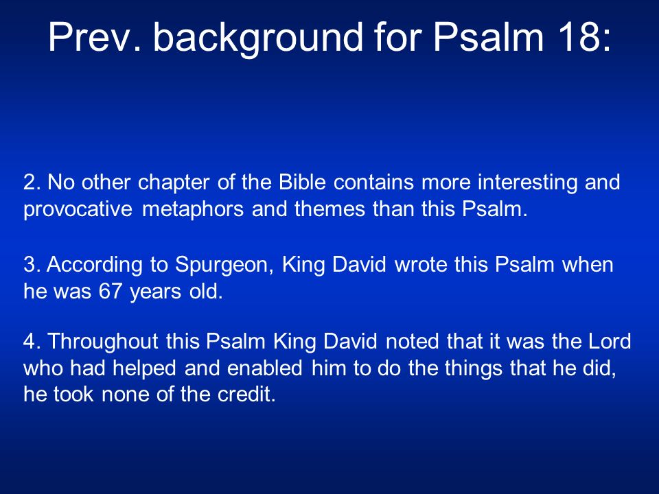 "Today's Sermon: Psalms 19-20: ""The Works and the Word of God"