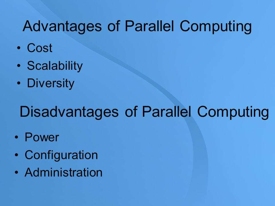 benefits of parallel computing