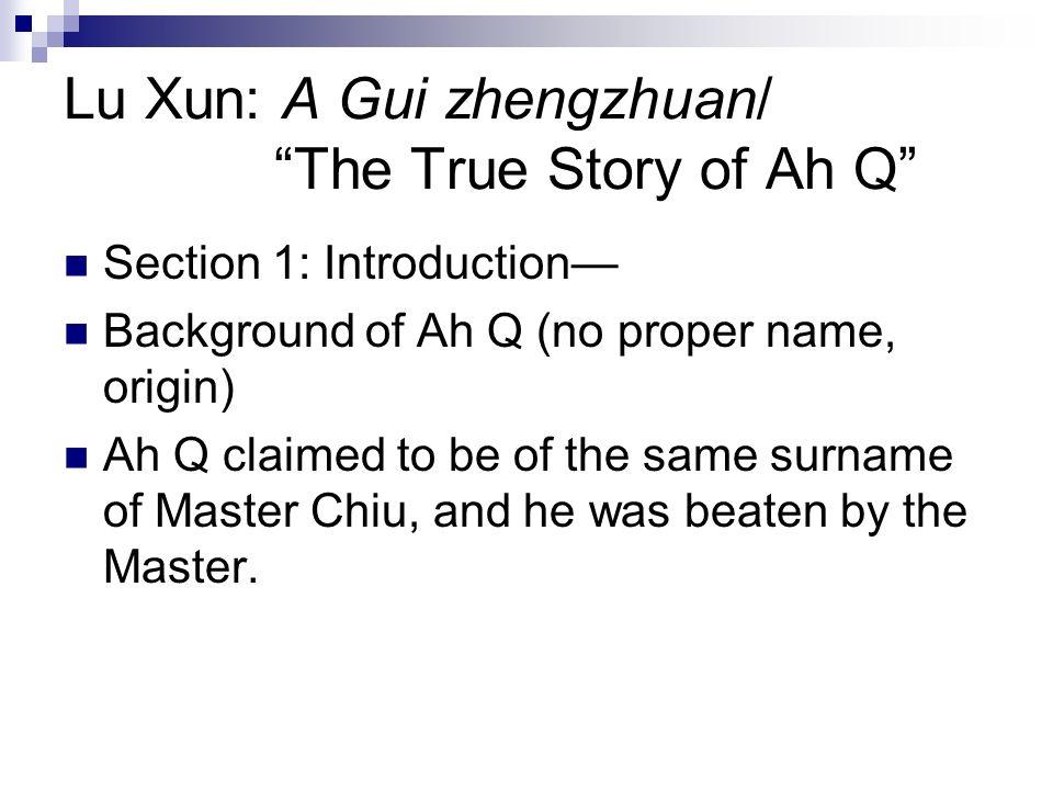 Modern Literature Lu Xun Outline I Modern Literature An