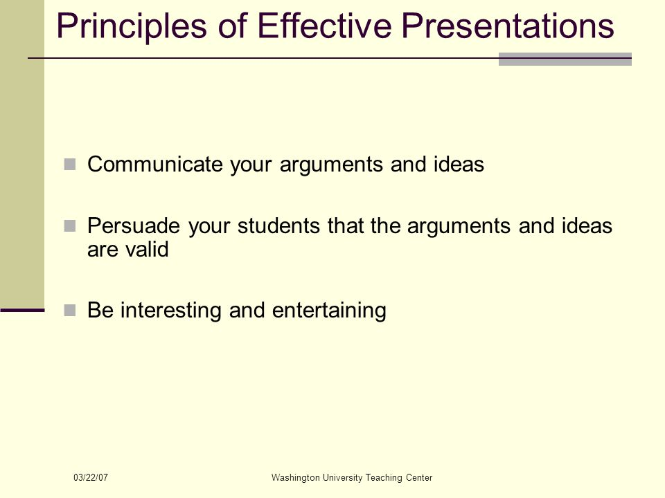 interesting presentation topics for university students