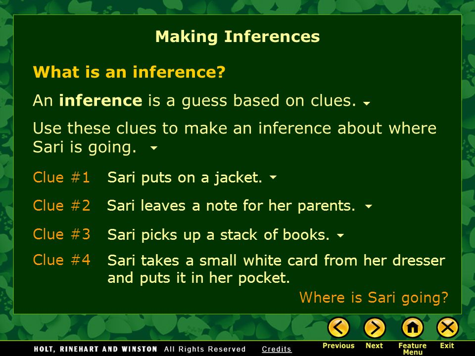 6ff210c223d2ad Making Inferences What Is an Inference  Why Make Inferences  Tips ...