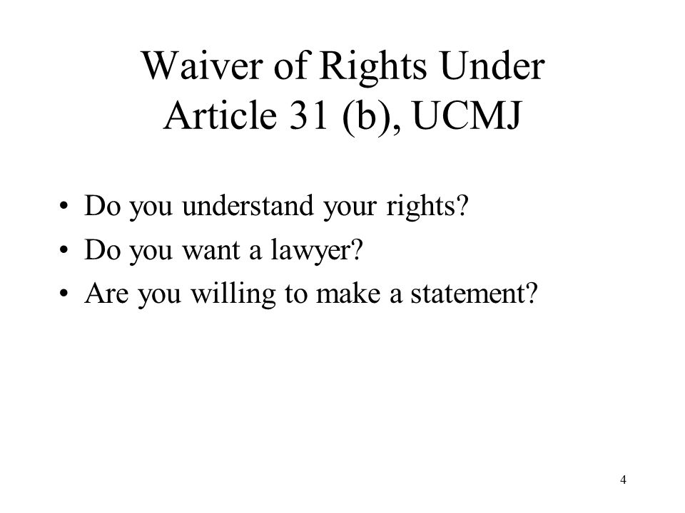 Ucmj homosexuality article 31