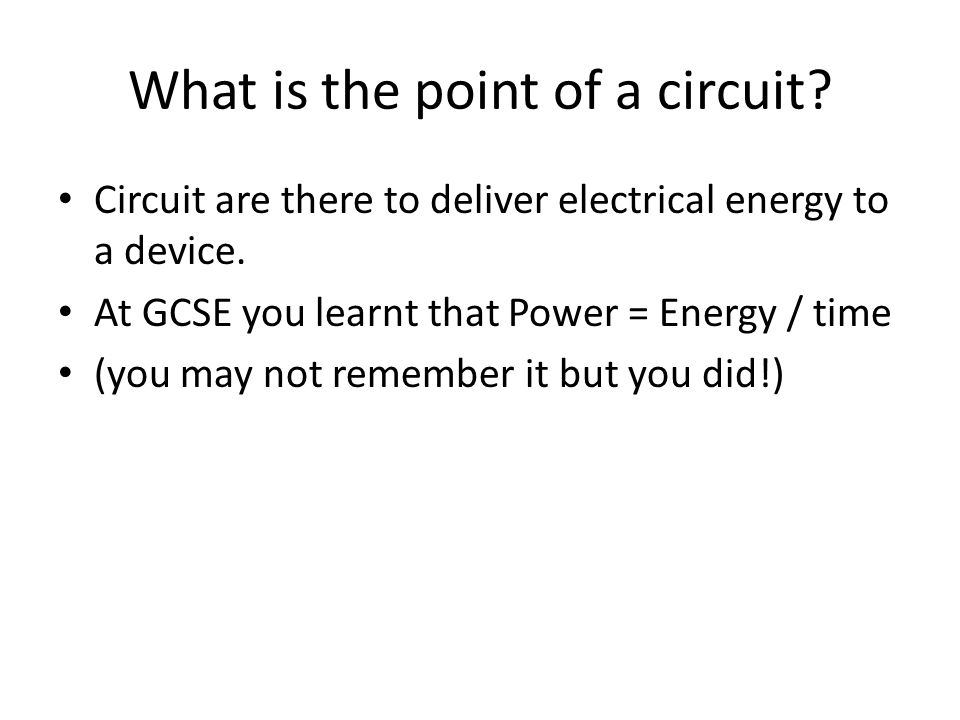 Electromotive force  Learning Objectives (a) recall and use