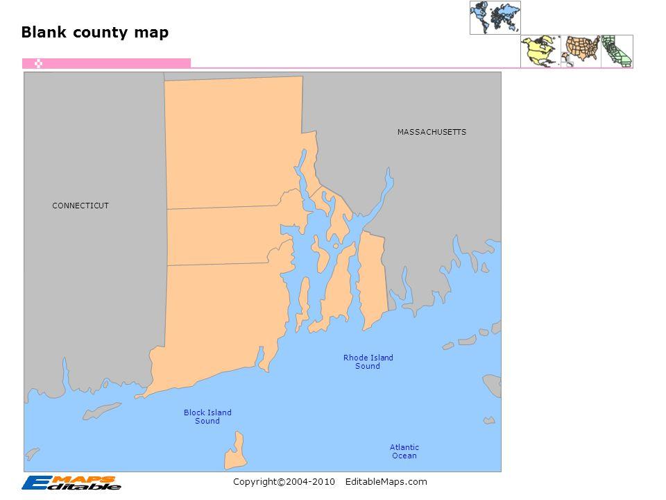 Copyright© EditableMaps.com Editable PowerPoint Maps USA: Rhode ...