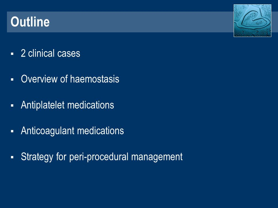 Antiplatelets, Anticoagulants What are the consequences Dr