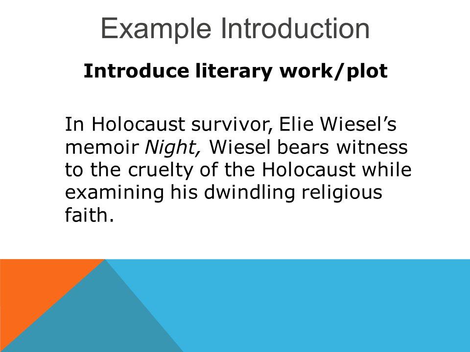 holocaust essays introduction