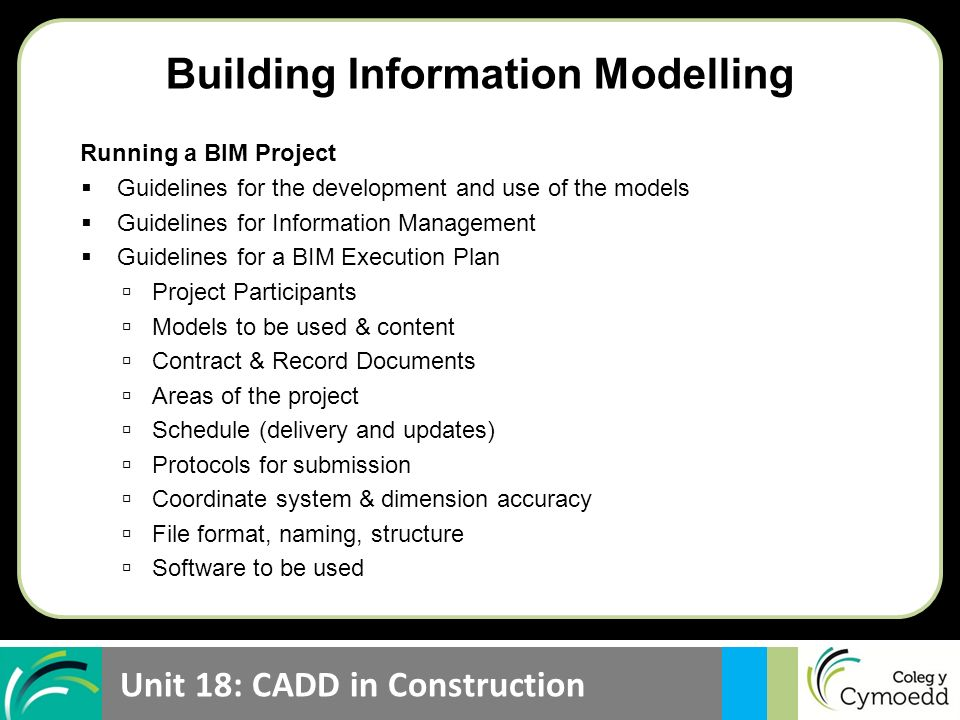 unit 18 cadd in construction lesson objective be able to explain rh slideplayer com