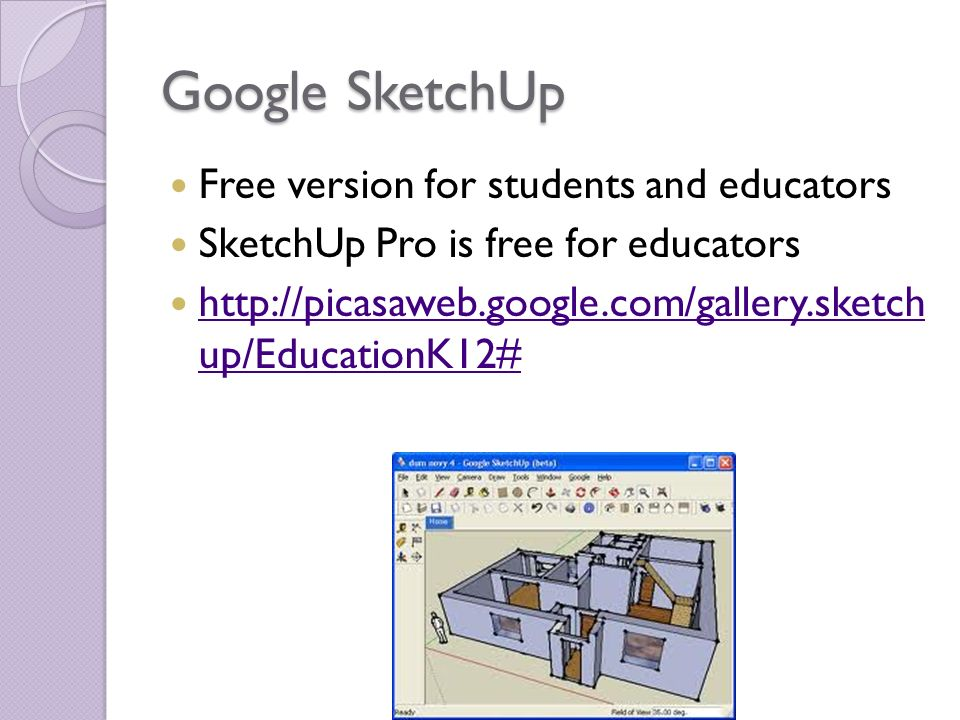 sketchup pro free for teachers