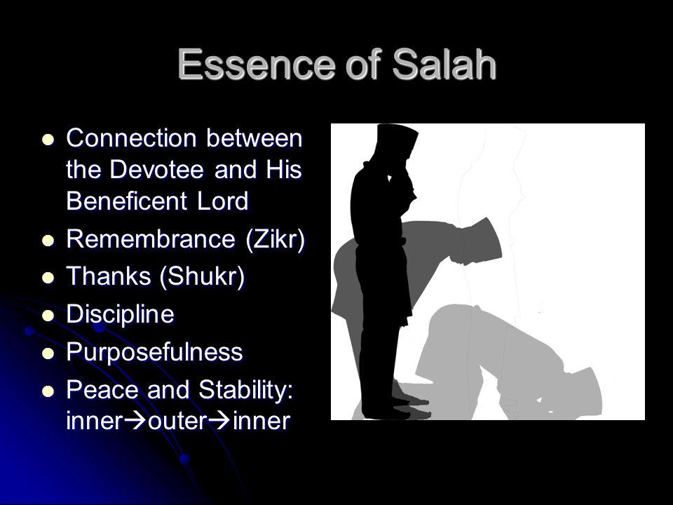 Salah (Prayer) Islam 101 In the Name of Allah Most Gracious