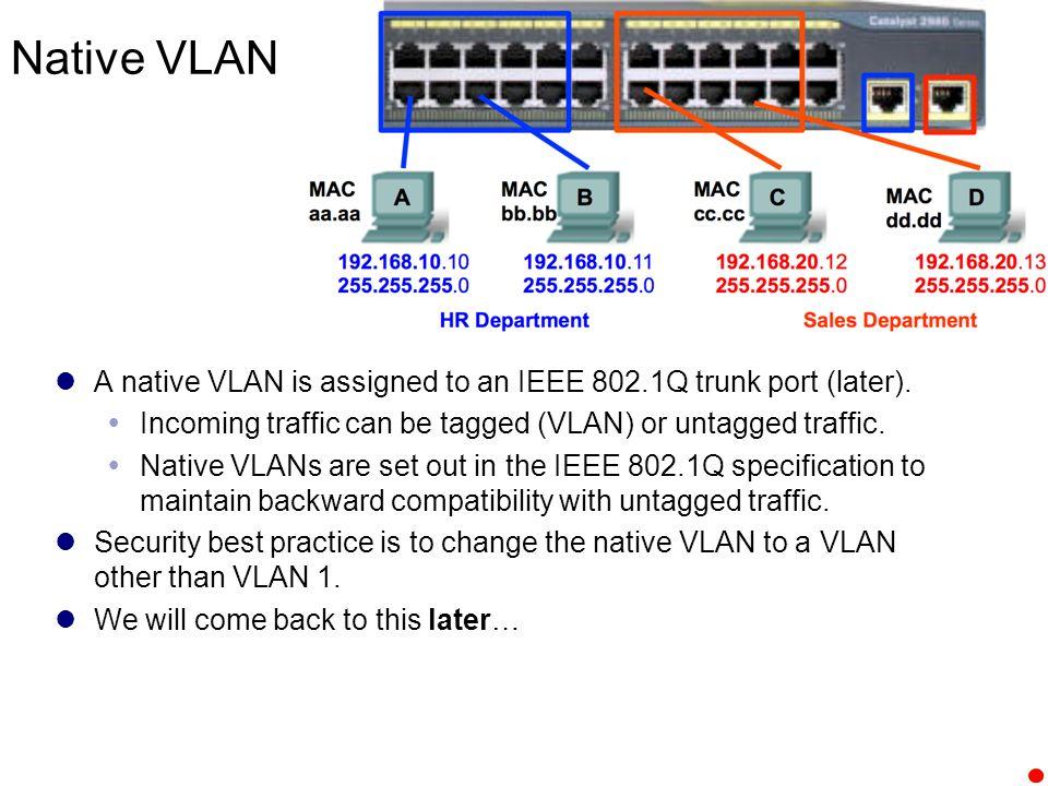 VLAN Segmentation 1  It's all about the IP Address 2 Rick
