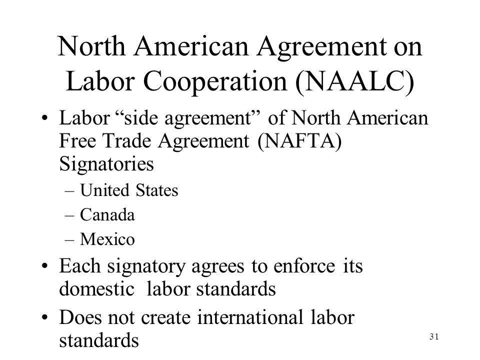 1 Models Of International Labor Standards Presented By Richard N