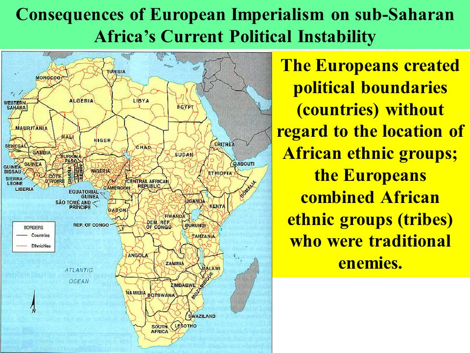 Current Map Of Africa Countries.Ethnic Conflict And Political Instability In Sub Saharan Africa Main