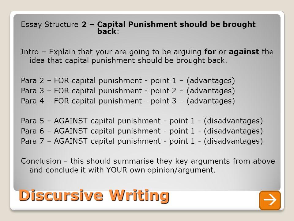 capital punishment opinion essay