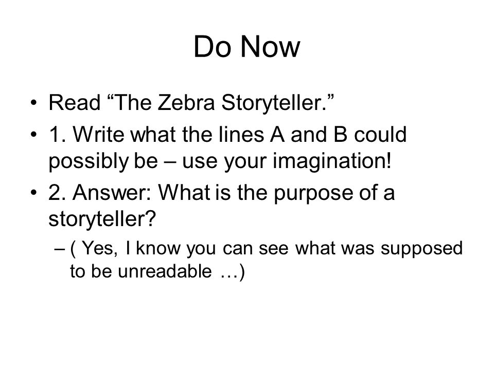 what is a storyteller