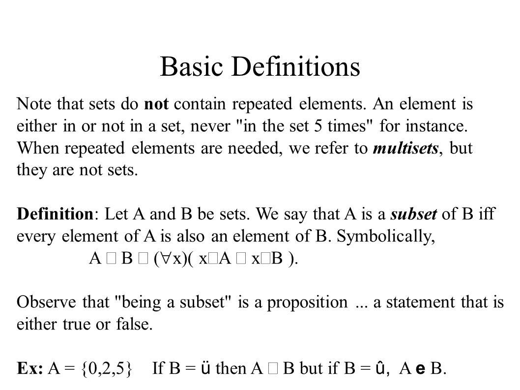 naive set theory