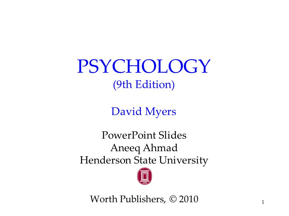 9781464111723: exploring psychology, 9th edition abebooks.